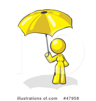 Yellow Design Mascot Clipart #47958 by Leo Blanchette