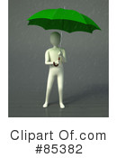 Royalty-Free (RF) Umbrella Clipart Illustration #85382