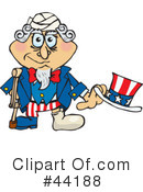 Uncle Sam Character Clipart #44188