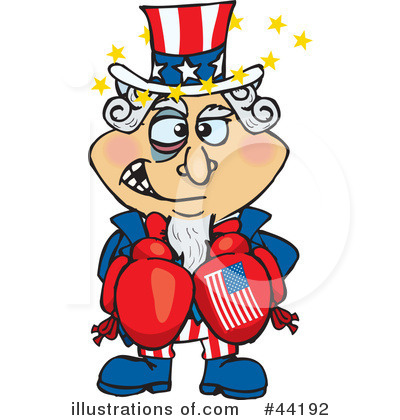 Uncle Sam Clipart #44192 by Dennis Holmes Designs