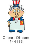 Uncle Sam Character Clipart #44193 by Dennis Holmes Designs