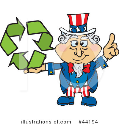 Uncle Sam Clipart #44194 by Dennis Holmes Designs