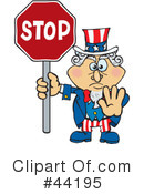 Uncle Sam Character Clipart #44195 by Dennis Holmes Designs