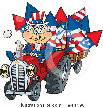 Uncle Sam Clipart #44198 by Dennis Holmes Designs