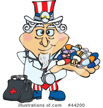 Uncle Sam Clipart #44200 by Dennis Holmes Designs