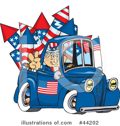 Uncle Sam Clipart #44202 by Dennis Holmes Designs