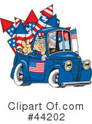Royalty-Free (RF) Uncle Sam Character Clipart Illustration #44202