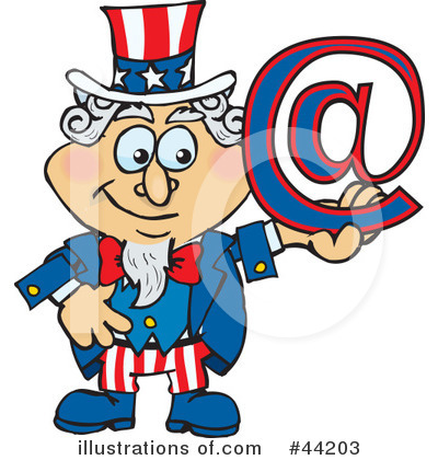 Uncle Sam Clipart #44203 by Dennis Holmes Designs