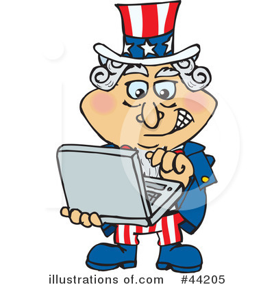 Uncle Sam Clipart #44205 by Dennis Holmes Designs