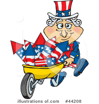 Uncle Sam Clipart #44208 by Dennis Holmes Designs
