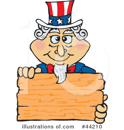 Uncle Sam Clipart #44210 by Dennis Holmes Designs