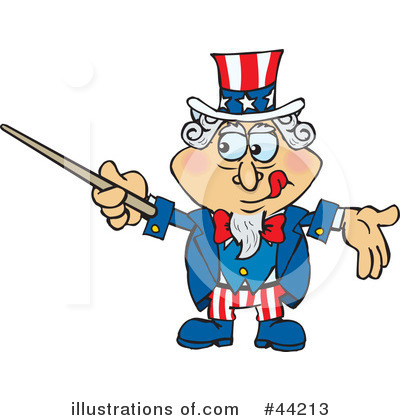 Uncle Sam Clipart #44213 by Dennis Holmes Designs