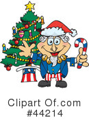 Royalty-Free (RF) Uncle Sam Character Clipart Illustration #44214