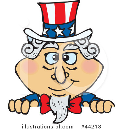 Uncle Sam Clipart #44218 by Dennis Holmes Designs