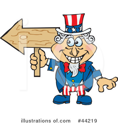 Uncle Sam Clipart #44219 by Dennis Holmes Designs