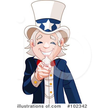 Uncle Sam Clipart #102342 by Pushkin