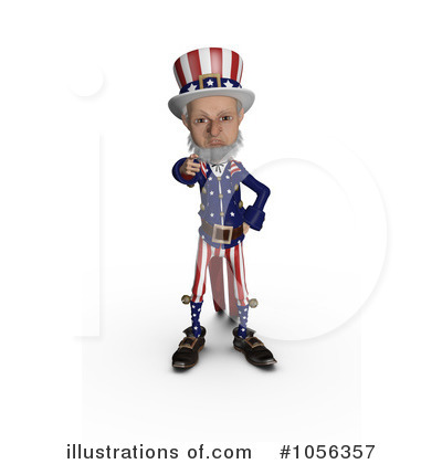 United States Clipart #1056357 by Michael Schmeling