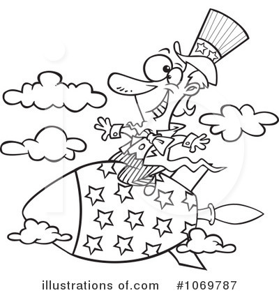 Uncle Sam Clipart #1069787 by toonaday