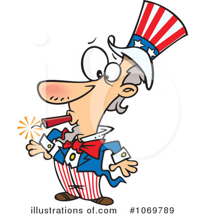Uncle Sam Clipart #1069789 by toonaday