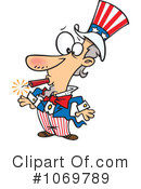 Royalty-Free (RF) Uncle Sam Clipart Illustration #1069789