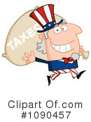 Royalty-Free (RF) uncle sam Clipart Illustration #1090457