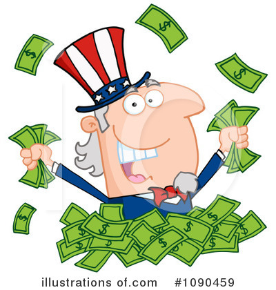 Finance Clipart #1090459 by Hit Toon