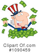 Royalty-Free (RF) Uncle Sam Clipart Illustration #1090459