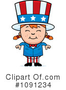 Royalty-Free (RF) Uncle Sam Clipart Illustration #1091234