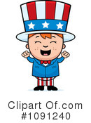 Royalty-Free (RF) Uncle Sam Clipart Illustration #1091240