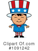 Royalty-Free (RF) Uncle Sam Clipart Illustration #1091242