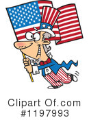 Royalty-Free (RF) Uncle Sam Clipart Illustration #1197993