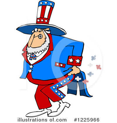 Uncle Sam Clipart #1225966 by djart