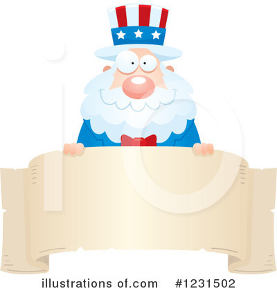 Uncle Sam Clipart #1231502 by Cory Thoman