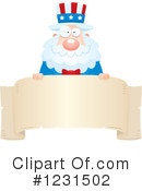 Royalty-Free (RF) Uncle Sam Clipart Illustration #1231502