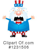 Royalty-Free (RF) Uncle Sam Clipart Illustration #1231506