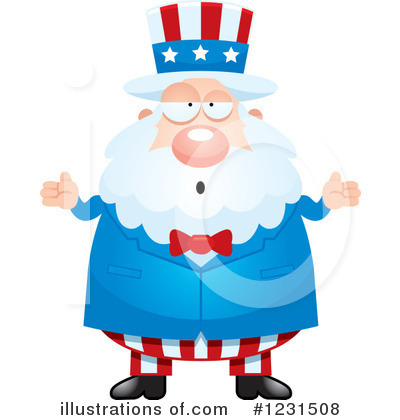 Uncle Sam Clipart #1231508 by Cory Thoman