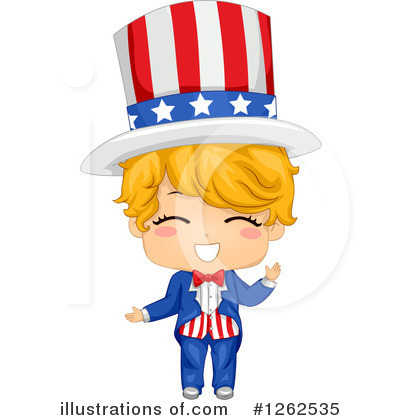 Uncle Sam Clipart #1262535 by BNP Design Studio