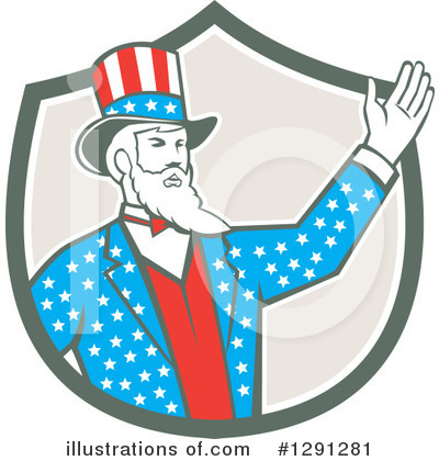 Uncle Sam Clipart #1291281 by patrimonio
