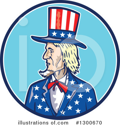 Uncle Sam Clipart #1300670 by patrimonio