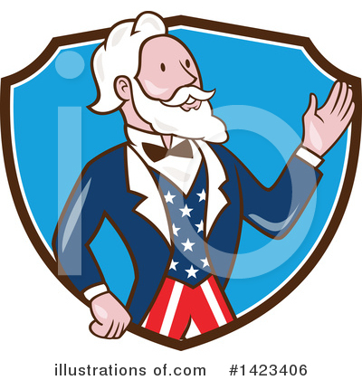 Uncle Sam Clipart #1423406 by patrimonio