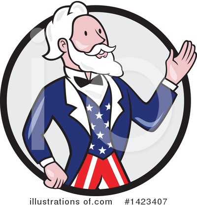 Uncle Sam Clipart #1423407 by patrimonio