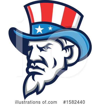 Royalty-Free (RF) Uncle Sam Clipart Illustration by patrimonio - Stock Sample #1582440