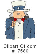 Royalty-Free (RF) Uncle Sam Clipart Illustration #17580