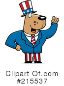 Royalty-Free (RF) Uncle Sam Clipart Illustration #215537