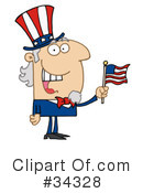 Uncle Sam Clipart #34328