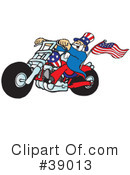 Royalty-Free (RF) Uncle Sam Clipart Illustration #39013