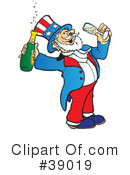 Royalty-Free (RF) Uncle Sam Clipart Illustration #39019
