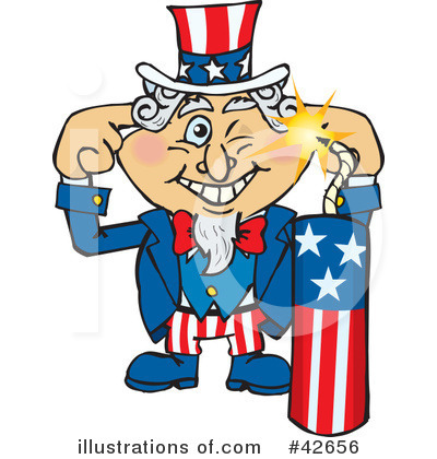 Uncle Sam Clipart #42656 by Dennis Holmes Designs