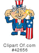 Uncle Sam Clipart #42656