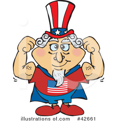 Royalty-Free (RF) Uncle Sam Clipart Illustration by Dennis Holmes Designs - Stock Sample #42661